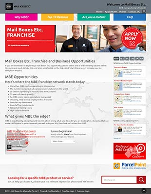 MBE-Franchise-Site